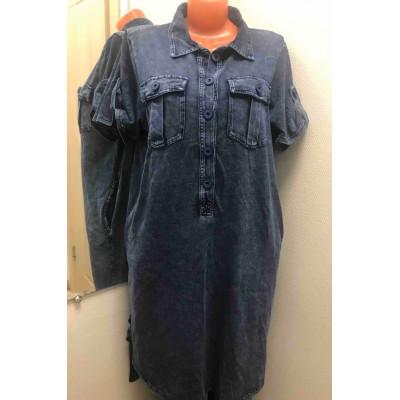 Платье джинса Y-25
