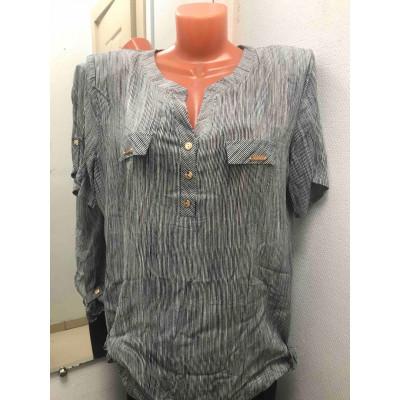 Блузка мелкая полоса