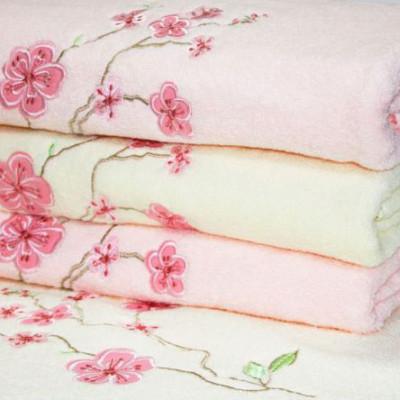 Махровое полотенце Сакура