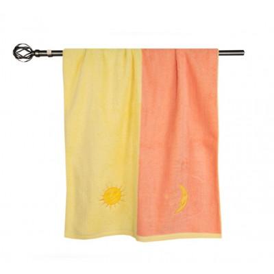 Махровое полотенце День/ночь